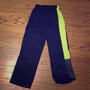 Other - Black and yellow sweat pants